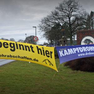Krieg beginnt hier_Kampfdrohnen ächten_Bundeswehr abschaffen!