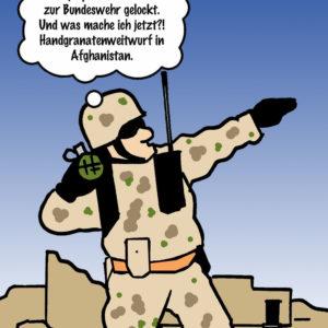 Cartoon Olympia_Militärfestspiele