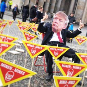 Aktion in Berlin 10-11-2018