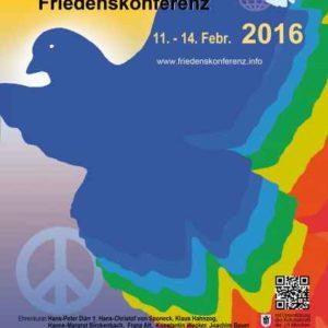 14. Internationale Münchner Friedenskonferent_Frieden und Gerechtigkeit gestalten - NEIN zum Krieg