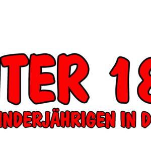 Logo Unter 18 nie! - Keine Minderjährigen in der Bundeswehr