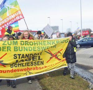 Nein zum Drohnenkrieg der Bundeswehr