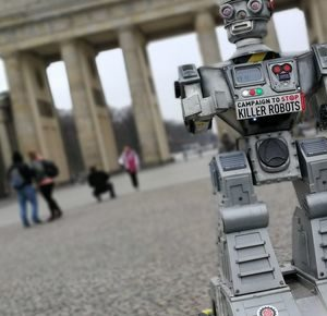 Killerroboter stoppen Aktion