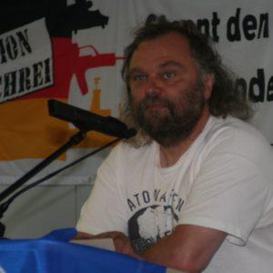 Felix Oekentorp, Landessprecher der Deutschen Friedensgesellschaft – Vereinigte KriegsdienstgegnerInnen (DFG-VK) in Nordrhein-Westfalen