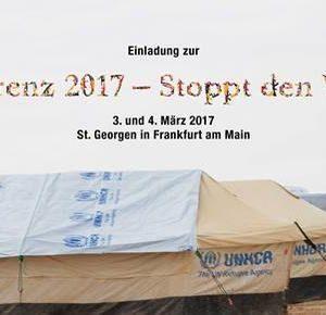 Aktionskonferent 2017 - Stoppt den Waffenhandel
