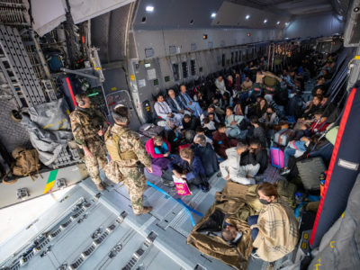 Evakuierung von afghanischen Ortskräften und deutschen Staatsbürger*innen aus Afghanistan